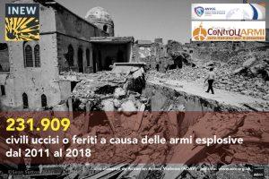 Italia: sì al percorso diplomatico per una dichiarazione internazionale contro le armi esplosive