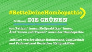 Bündnis 90/Die Grünen erwägen, die Homöopathie abzuschaffen