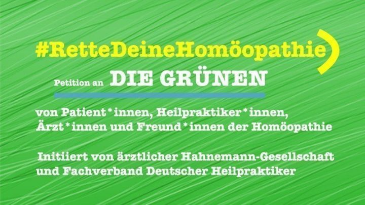 Alianza 90/Los Verdes considera la abolición de la homeopatía