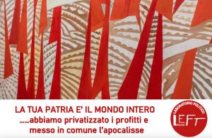 Roma – La tua patria è il mondo intero, laboratorio politico sull'internazionalismo