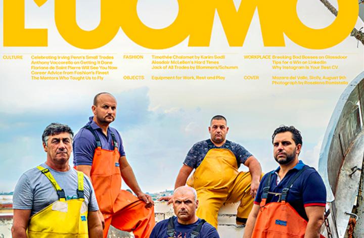 I pescatori di Mazara del Vallo ritratti su Vogue