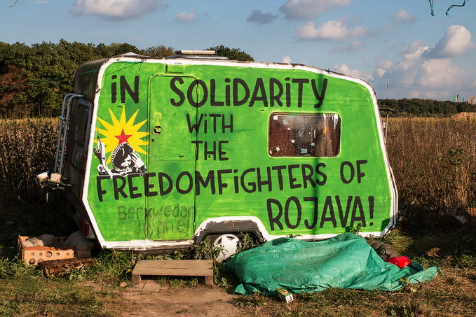 NO alla guerra! Sosteniamo la resistenza kurda!