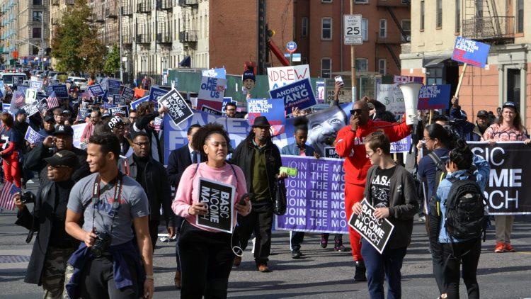 UBI March NYC 2019 Front Walk
