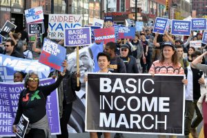 Basic Income March from Harlem to the Bronx