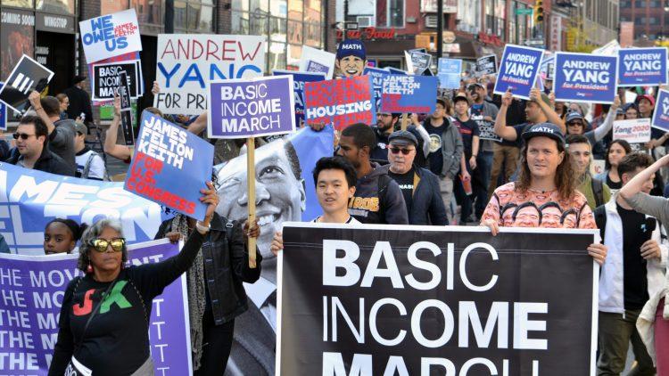UBI March NYC 2019 Walk