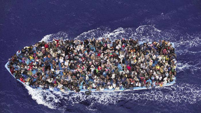 Presidio a Milano per ricordare il naufragio di Lampedusa