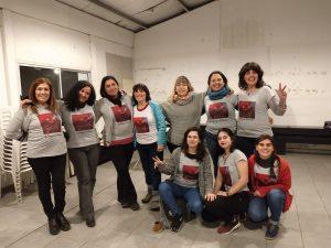 Le Féminin sacré dans la 34ème Rencontre plurinationale des femmes et dissidentes à la ville de La Plata, Argentine