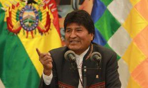 Evo Morales denuncia un tentativo di colpo di stato dopo le elezioni presidenziali in Bolivia