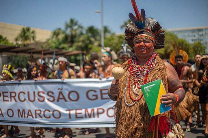 Lideranças indígenas levam reivindicações para governo e STF em Brasília