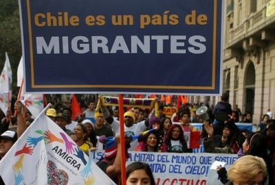 From Aperture to Protectionism:  Immigrants Test Chile's Open Door