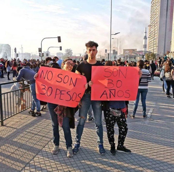 (Pronunciamiento) Chile: Cuando lo único público es la violencia, es justo decir basta
