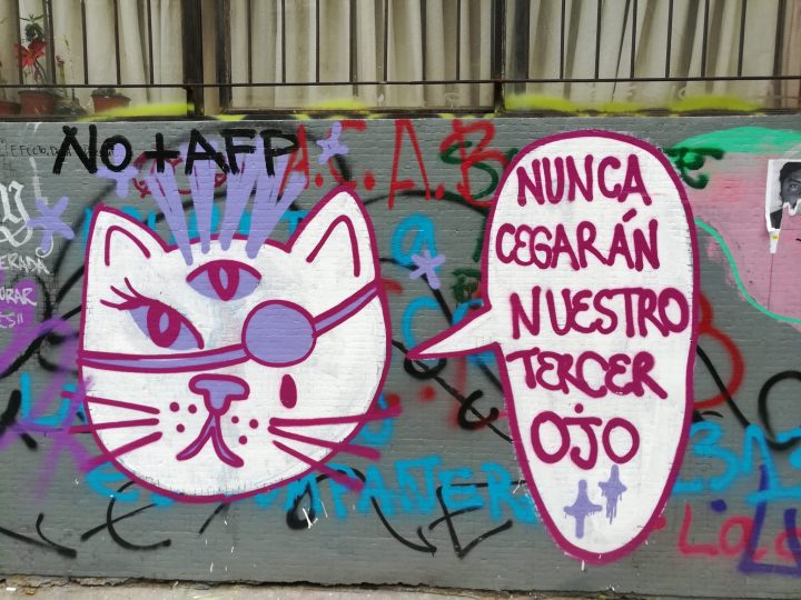 Resultado de imagen para estallido social graffiti