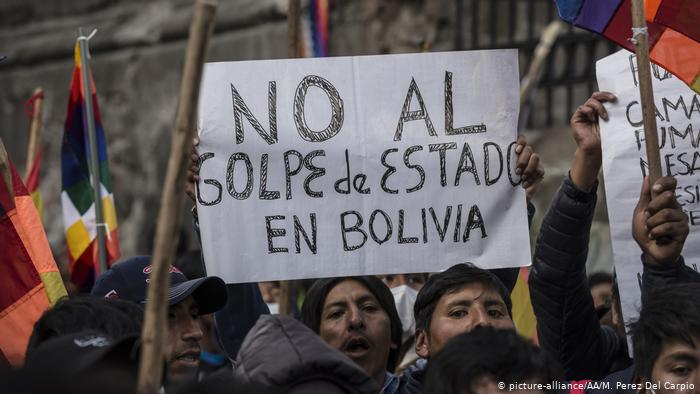 31 US organizations denounce the brutal repression in Bolivia