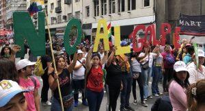 Roma, presidio contro il golpe in Bolivia