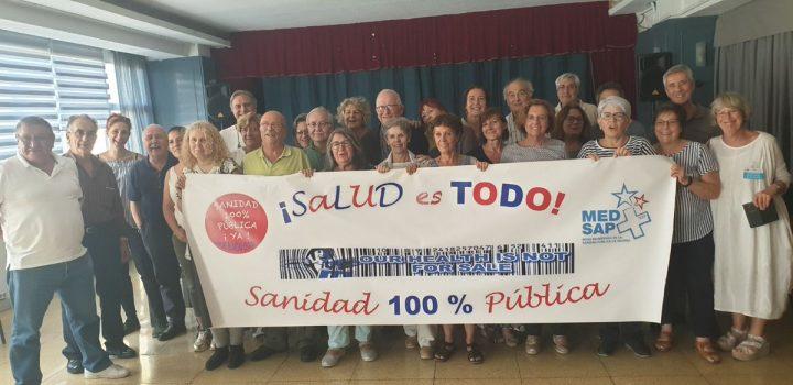 España: Mareas Blancas piden votar este 10N para revertir privatización de la sanidad pública
