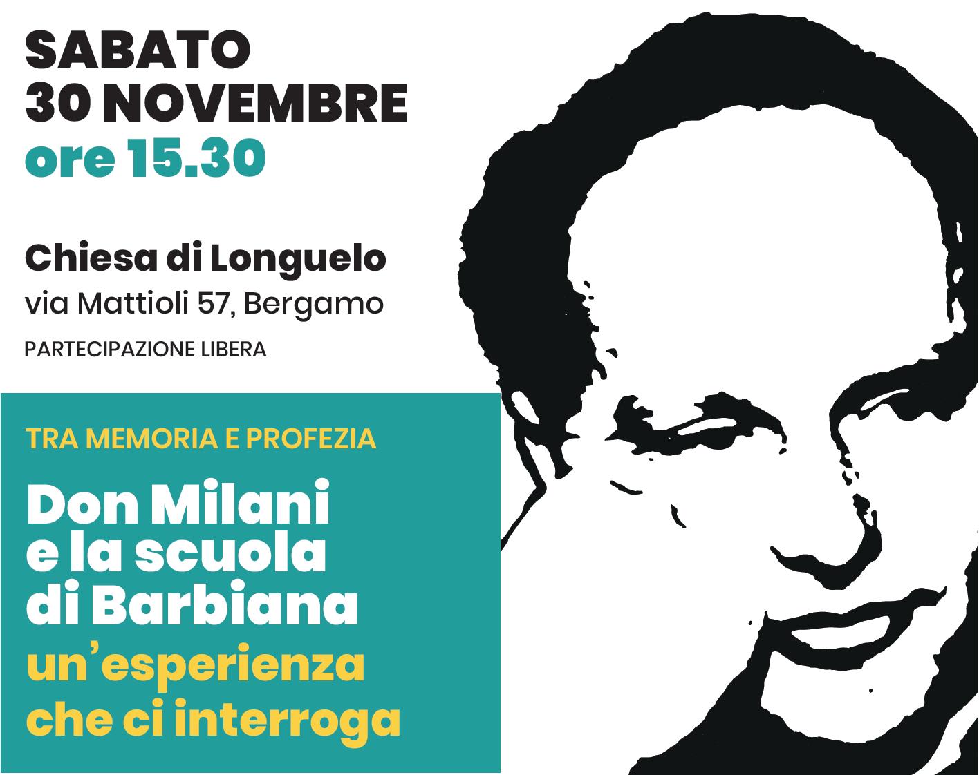 Da Barbiana a Bergamo - Pressenza
