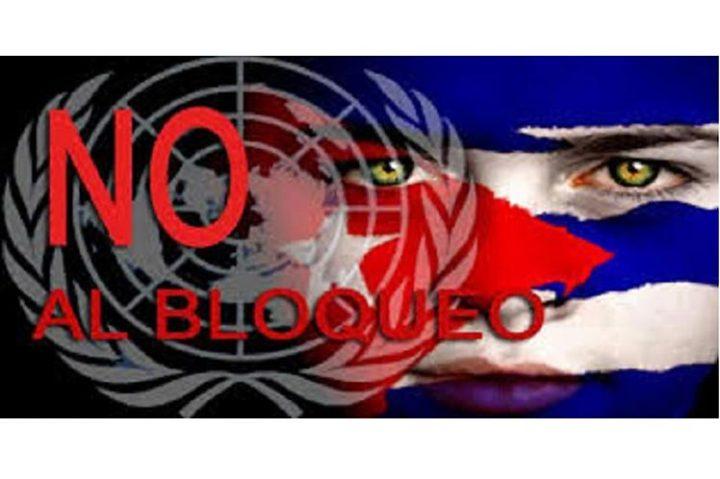 EUA isolado da comunidade internacional que pede o fim do bloqueio