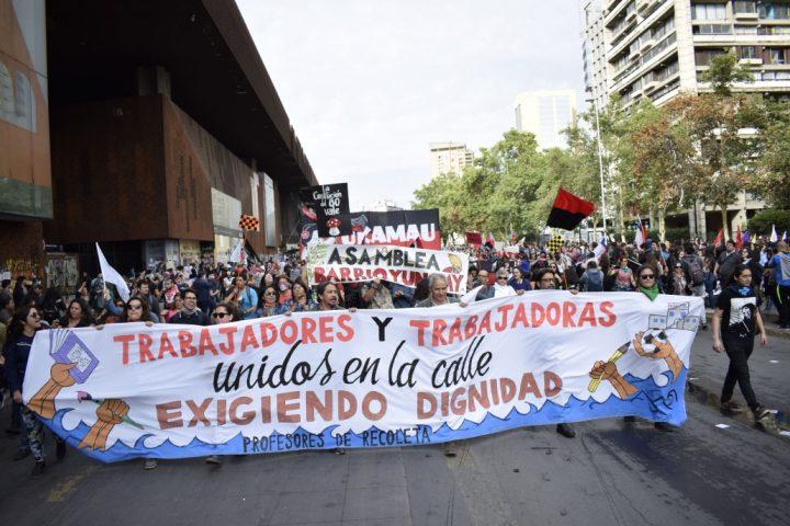 Chile: Plan de acción del Colegio de Profesores para la situación que enfrenta el país