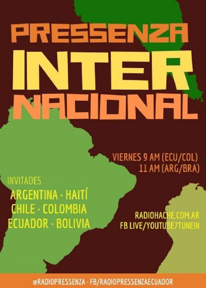 Pressenza Internacional Especial «Estado de NuestrAmérica» 01-11-2019