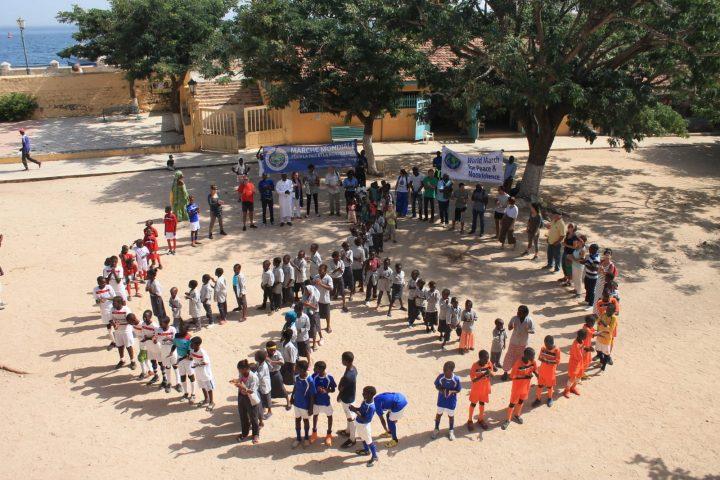 Senegal: la isla Gorea y la ciudad de Pikine acogen a la Marcha Mundial