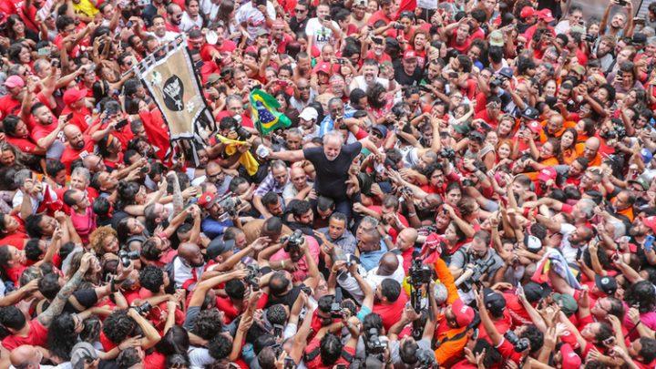 Boaventura ve a Lula libre