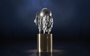 The new Right Livelihood Award Sculpture is made from recycled illegal guns