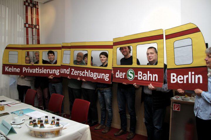 Keine Privatisierung und Zerschlagung der S-Bahn Berlin