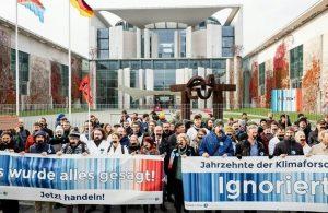 Scientists for Future: Schweigedemo vor dem Bundeskanzleramt – Es ist alles gesagt. Handeln!