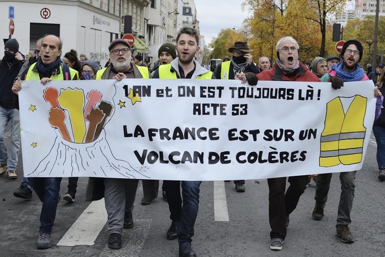 foto de Acte 53 des Gilets Jaunes : La France est sur un volcan