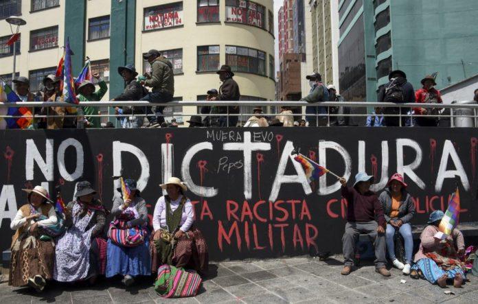 Bolivia: Pacificación virtual, terror y resistencia reales