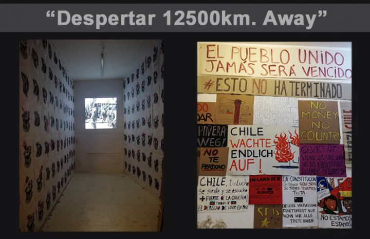Solidarity with Chile-Video covering Art Installation in Berlin