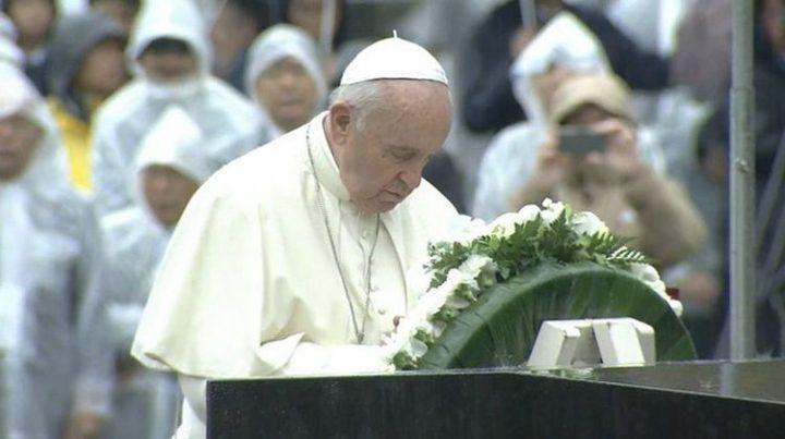 Il Papa in Giappone: le armi nucleari sono incompatibili con la pace