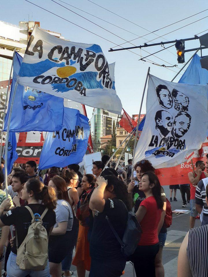 manifestación repudio golpe Bolivia en Cba 021