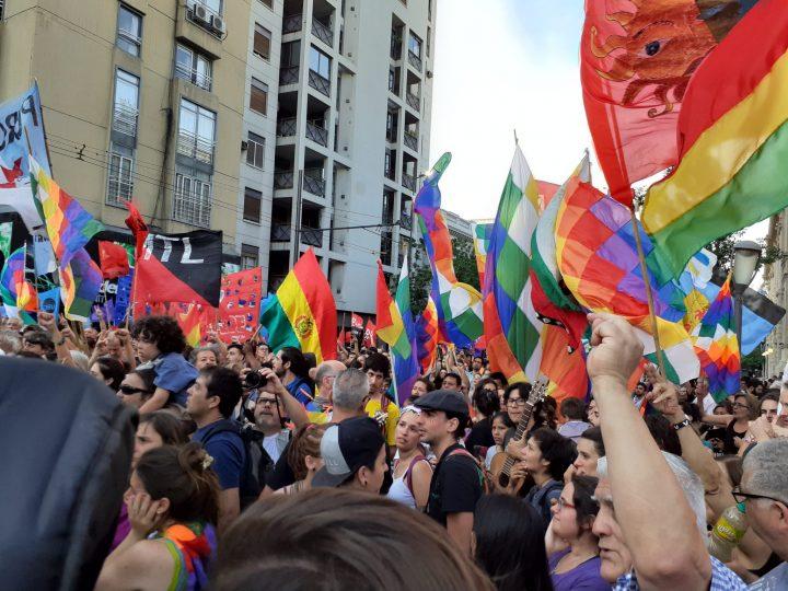manifestación repudio golpe Bolivia en Cba 041