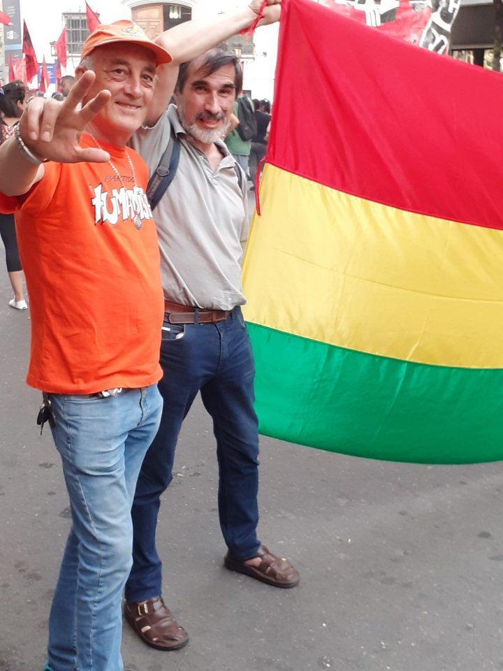 manifestación repudio golpe Bolivia en Cba 052