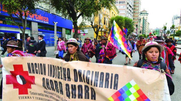 Denunciamos a quienes detentan el poder en Bolivia y llamamos al diálogo