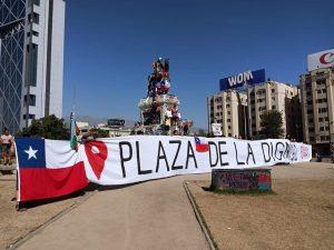 Cabildos, marchas comunales arraigadas, meditaciones, cicletadas, visitas a los heridos y más en Santiago de Chile