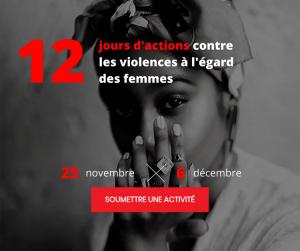 Québec. 12 jours d'action pour dénoncer les violences faites aux femmes