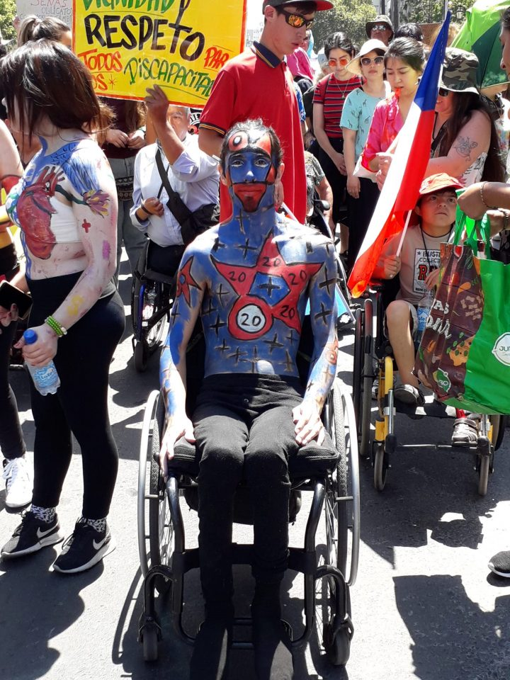 Chile. Marcha de las Personas con Discapacidad: el neoliberalismo discapacita (1)