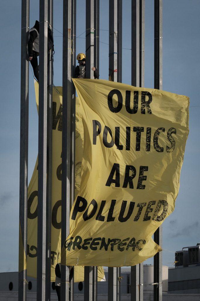 ACCION GREENPEACE_COP25_denuncia presiones grandes empresas (6)
