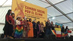 """Apertura del Summit Sociale per il Clima: """"Più in là della Cop25"""""""
