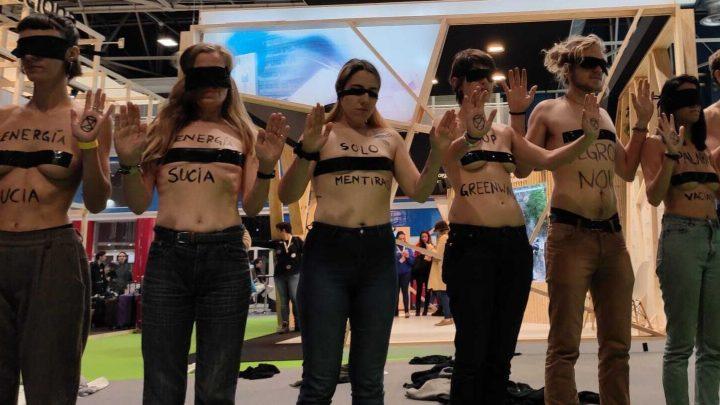 Los jóvenes de Cop25 exigen una acción inmediata