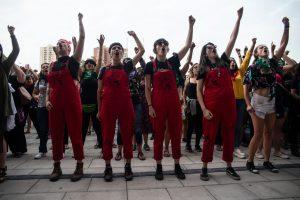 Las Tesis reunieron a más de 3 mil mujeres en el Museo de la Memoria