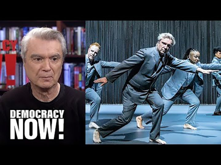 """David Byrne on His Broadway Show """"American Utopia,"""" Talking Heads, Reasons to Be Cheerful & More"""