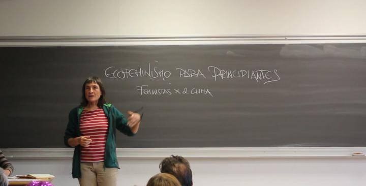 Ecofeminismo para principiantes, en la Cumbre Social por el Clima