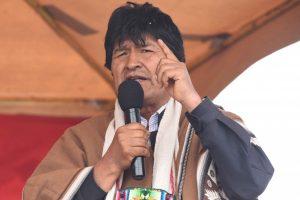 MAS confirma candidatura de Evo Morales ao Senado da Bolívia
