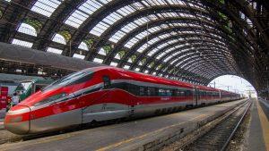 La linea storica da Torino a Bardonecchia accoglie il Super Frecciarossa sugli sci