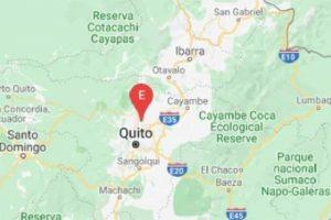 Temblor de 4,23 interrumpe el sueño en capital de Ecuador