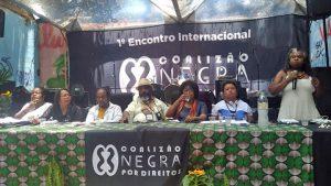 I Encontro Internacional da Coalizão Negra Por Direitos debate representação política