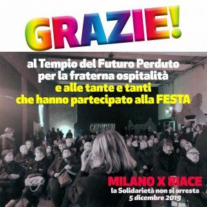 Festa solidale, Milano abbraccia Riace